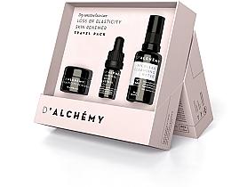 Kup Zestaw podróżny - D'Alchemy Loss of Elasticity Skin Renewer Travel Pack (f/cr/15ml + f/oil/5ml + mic/water/30ml)