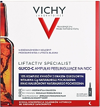 Kup Kuracja peelingująca na noc do pielęgnacji skóry twarzy - Vichy LiftActiv Specialist Glyco-C