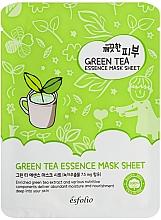 Kup Oczyszczająca maska w płachcie do twarzy - Esfolio Pure Skin Green Tea Essence Mask Sheet