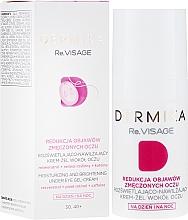 Kup Rozświetlająco-nawilżający krem-żel wokół oczu na dzień i na noc Redukcja objawów zmęczonych oczu 30-40+ - Dermika Re.Visage