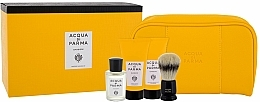 Kup Acqua di Parma Colonia - Zestaw dla mężczyzn (edc/20ml + sh/cr/40ml + balm/40ml + brush + bag)