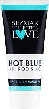 Kup Żel do mycia ciała i higieny intymnej - Sezmar Collection Love Hot Blue Aphrodisiac Shower Gel