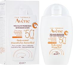 Kup Przeciwsłoneczny fluid mineralny SPF 50+ - Avène Eau Thermale Mineral Fluid