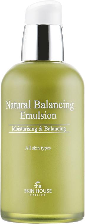 Emulsja do twarzy przywracająca równowagę skóry - The Skin House Natural Balancing Emulsion — фото N2