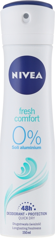 Dezodorant-antyperspirant w sprayu - Nivea Fresh Comfort Spray