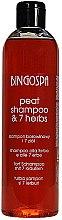 Kup Borowinowy szampon 7 ziół do włosów - BingoSpa
