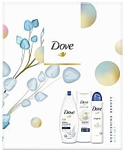 Kup Zestaw - Dove Nourishing Beauty Gift Set (sh/gel/250ml + b/lotion/250ml + deo/150ml)