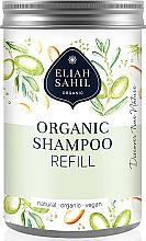 Kup Blaszany pojemnik na szampon w proszku - Eliah Sahil Organic Shampoo Refill