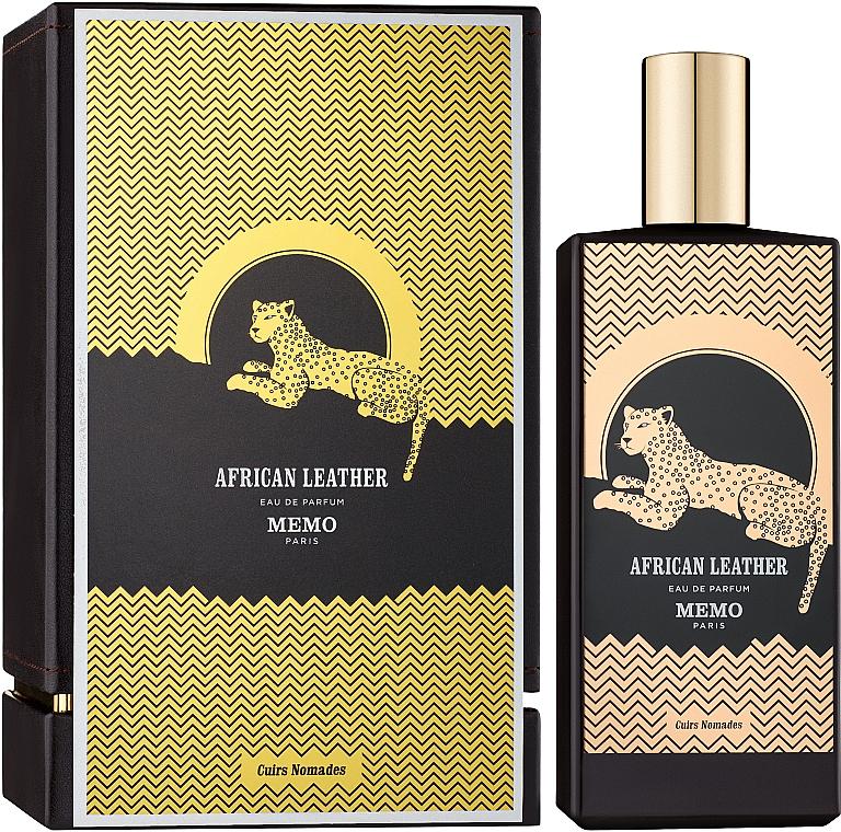 Memo African Leather - Woda perfumowana — фото N2
