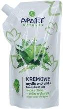 Kup Kremowe mydło w płynie do rąk Aloes i gliceryna - Apart Natural Aloe Vera Water & Glycerin Soap (uzupełnienie)
