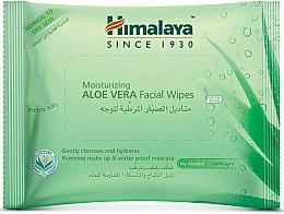 Kup Nawilżające chusteczki do twarzy z aloesem - Himalaya Herbals Moisturizing Aloe Vera Facial Wipes