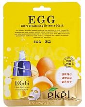 Kup Nawilżająca maska na tkaninie do twarzy z ekstraktem z żółtka jajka - Ekel Egg Ultra Hydrating Mask