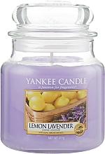 Kup Świeca zapachowa w słoiku - Yankee Candle Lemon Lavender