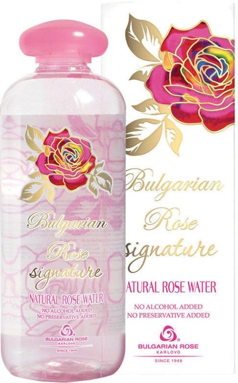 Naturalna woda różana - Bulgarian Rose Signature Rose Water — фото N1
