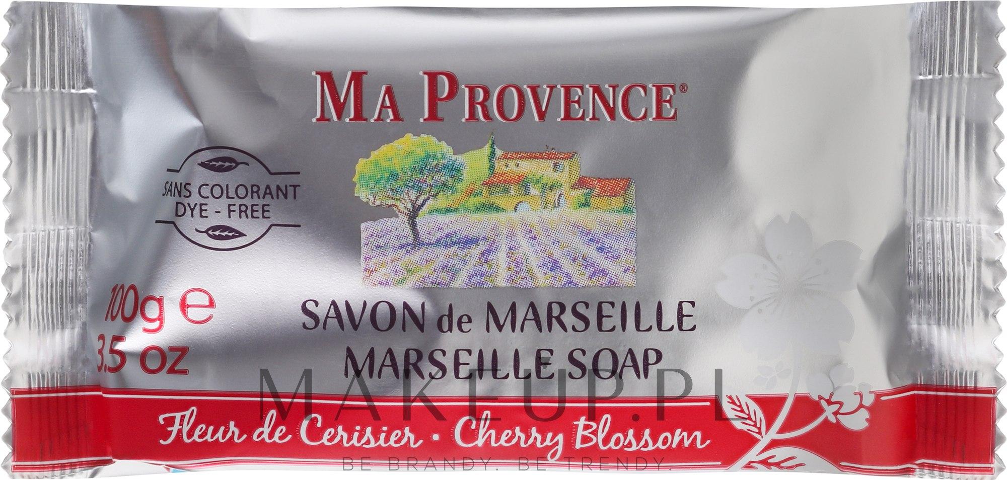 Mydło w kostce Kwiat wiśni - Ma Provence Marseille Soap Cherry Blossom — фото 100 g