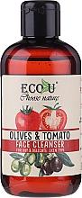 Kup Oczyszczający żel do mycia twarzy do skóry suchej i wrażliwej Oliwki i pomidor - Eco U Face Cleanser