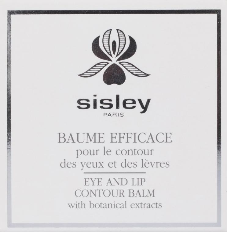 Pielęgnujący balsam do okolic oczu i ust - Sisley Botanical Eye And Lip Contour Balm — фото N4