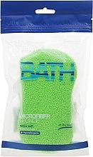 Kup Gąbka do kąpieli Zielona - Suavipiel Microfiber Bath Sponge Extra Soft