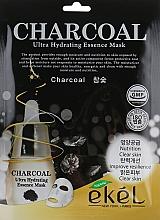 Kup Nawilżająca maska na tkaninie do twarzy z węgla drzewnego - Ekel Charcoal Ultra Hydrating Essence Mask