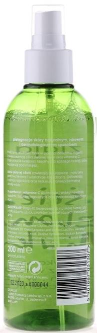 Oliwkowy tonik z witaminą C - Ziaja Liście zielonej oliwki — фото N2