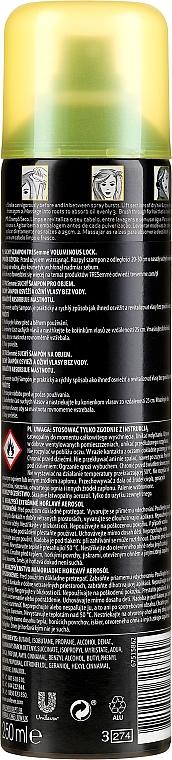 Suchy szampon do włosów - Tresemme Voluminous Lock Dry Shampoo for Fine to Oily Hair — фото N2