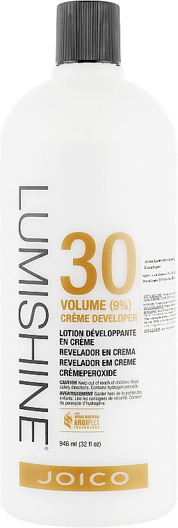 Aktywator do farby 9% - Joico Lumishine Creme Developer — фото N1
