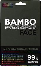 Kup Odświeżająca maska z solą morską i ekstraktem z bambusa - Beauty Face Cleansing & Refreshing Compress Mask For Man