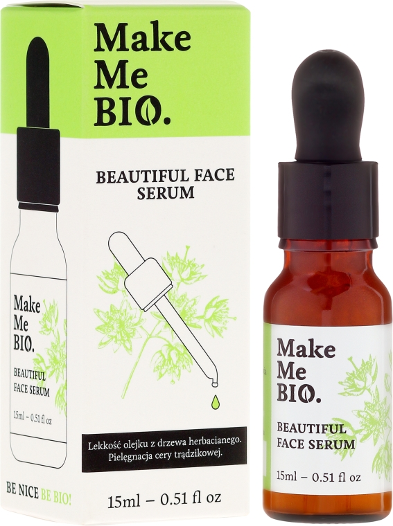Serum do cery trądzikowej - Make Me Bio Beautiful Face — фото N2