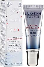 Kup Nawilżający krem do ust - Lumene Arctic Hydra Care [Arktis] Rich Lip Cream