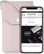 Kup Etui na telefon, pudrowy róż, Cross - Makeup Phone Case Crossbody Powder