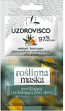 Kup Roślinna maska nwilżąjąca i redukująca pory skóry - Uzdrovisco Moisturizing Mask