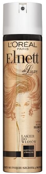 Lakier do włosów Maksymalne utrwalenie - L'Oreal Paris Elnett de Luxe Hairspray Diamond Gloss