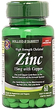 Kup Suplement diety Cynk i miedź - Holland & Barrett High Strength Chelated Zinc With Copper 15mg