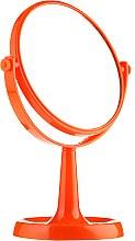 Kup Lusterko kosmetyczne na nóżce 85734, 15,5 cm, pomarańczowe - Top Choice Colours Mirror
