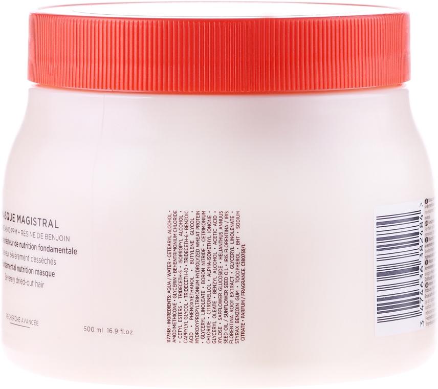 Odżywcza maska do włosów suchych - Kérastase Nutritive Masque Magistral — фото N3