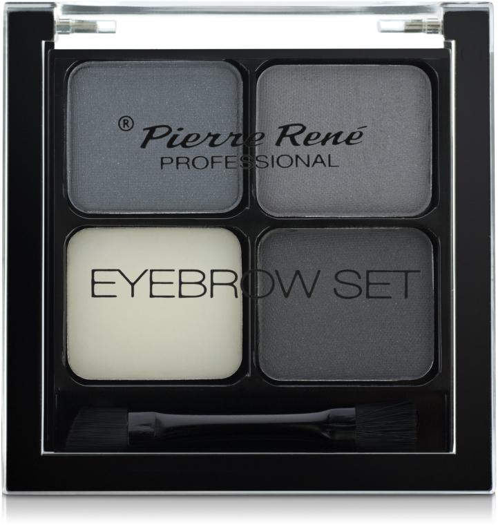 Zestaw do stylizacji brwi - Pierre René Eyebrow Set