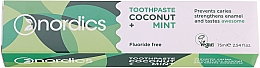 Kup Pasta do zębów Kokos i Mięta - Nordics Coconut + Mint Toothpaste