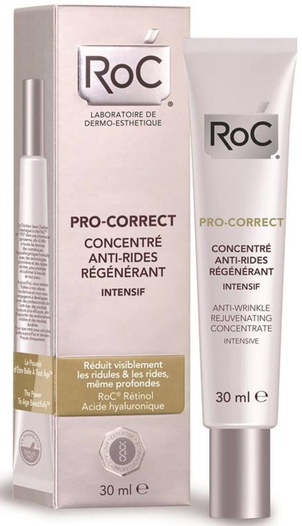 Odmładzający koncentrat do twarzy - RoC Pro-Correct Anti-Wrinkle Rejuvenating Concentrate Intensive — фото N1
