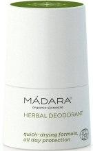 Roślinno-mineralny dezodorant - Madara Cosmetics Herbal Deodorant — фото N1