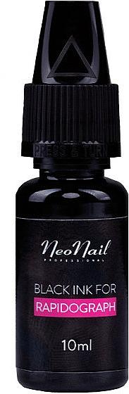 Tusz do rapidografu - NeoNail Professional Black Ink For Rapidograph — фото N1