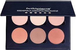 Paletka do konturowania twarzy - Bellapierre Cosmetics Contour & Highlight Pro Palette — фото N1