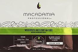 Kup Nawilżająca maska do włosów cienkich - Macadamia Professional Weightless Moisture Masque (próbka)