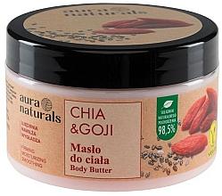 Kup Masło do ciała Chia i jagody goji - Aura Naturals Chia & Goji Body Butter