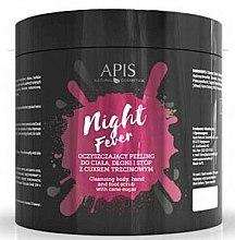 Kup Oczyszczający peeling do ciała, dłoni i stóp z cukrem trzcinowym - APIS Professional Night Fever