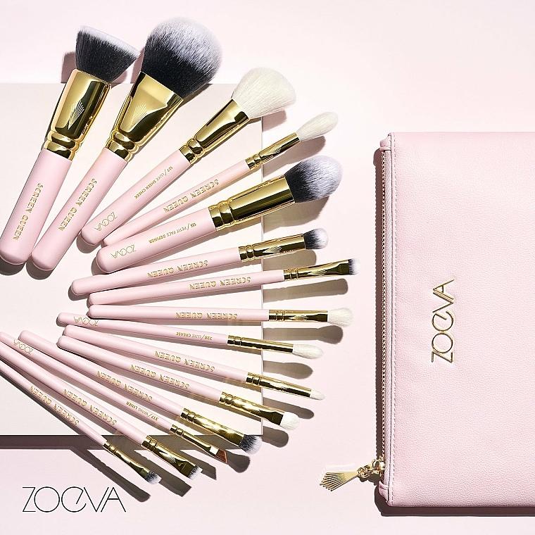 Zestaw pędzli do makijażu w kosmetyczce - Zoeva Screen Queen Complete Set (15 brushes + clutch) — фото N4