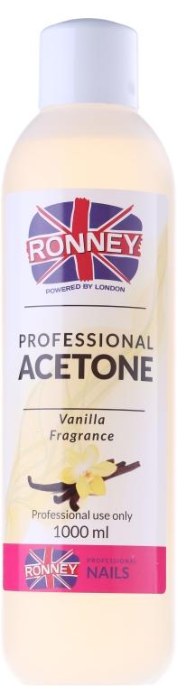 Acetonowy zmywacz do paznokci Wanilia - Ronney Professional Acetone Vanilia