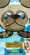 Kup Nawilżająca maska w płacie 3D do twarzy Mops - Bielenda Crazy Mask