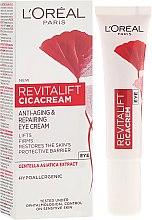 Kup Przeciwstarzeniowy krem pod oczy - L'Oreal Paris Revitalift Cicacream