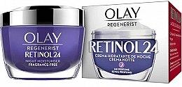 Kup Bezzapachowy krem nawilżający na noc - Olay Regenerist Retinol24 Cream Night Moisturiser