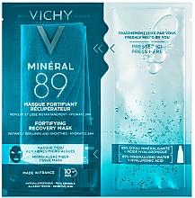 Kup Ekspresowa maska do twarzy na tkaninie z mikroglonów - Vichy Minéral 89 Fortifying Recovery Mask